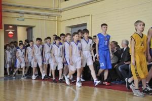 Парад баскетболистов 2012