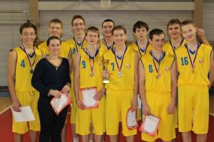 команда Бэсс 2014-1 место