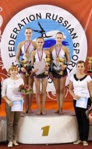 ЖГ Балезина Екатерина на пьедестале